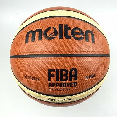 Indoor Out Molten GG7X Official Original Basketball Ball GG7X With Gift Pin&Net
