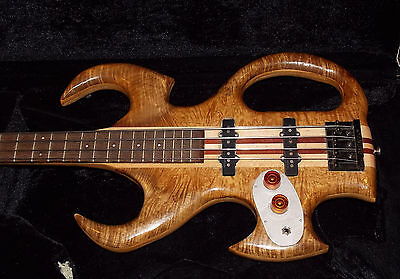 Wishbass Custom hand-crafted Electric Bass Guitar