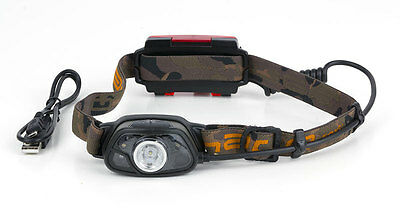 FOX NEW Halo MS300C Rechargeable Carp Fishing  / Headlamp - 300 Lumens - CEI163