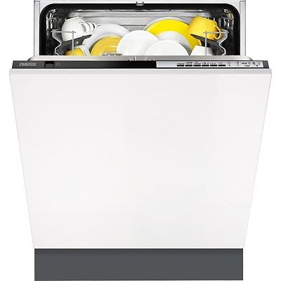 Zanussi ZDT24001FA Fully Integrated Built In 'A+AA' Rated 60cm Dishwasher