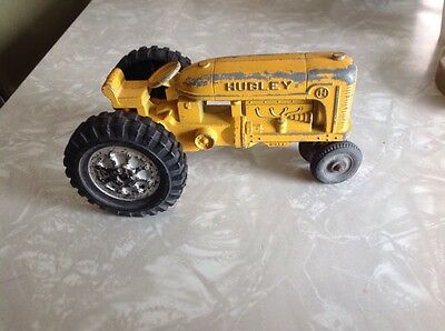 Vintage Hubley Die Cast Toy Tractor Made In U.s.a.