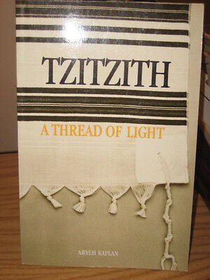 Judaica English book TZITZITH Thread of Light Aryeh Kaplan NEW