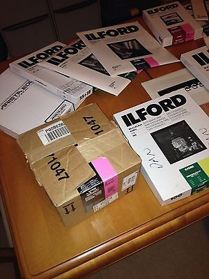 Ilford 5in x 250ft roll Multigrade IV RC Express PF Glossy – 75% plus remaining.