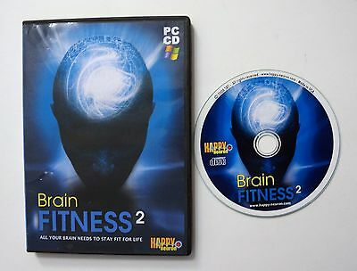 Brain Fitness 2  PC CD Happy Neuron Game All your Brain Needs to Stay Fit