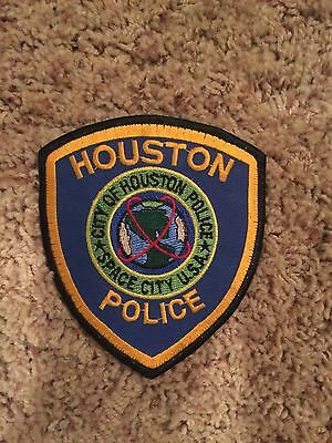 Police patch Houston PD