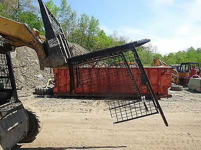 Case 1835 Skid Steer Loads ROPS Roll Cage Cab 1835B