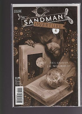 Sandman Overture #4 1:200 Variant Cover by Dave McKean
