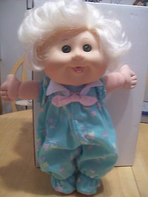 """Cabbage  Patch 13""""  Doll With Open/close Eyes& Blonde Hair Jakks 2011"""