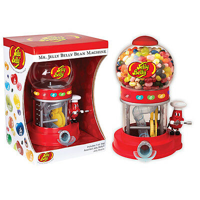 Mr Jelly Belly Jelly Belly-Candy-Vending-Dispenser-Machine + 10 Candy Samples