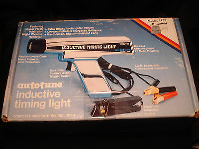 AUTO-TUNE INDUCTIVE TIMING LIGHT MODEL 4138 with box and instructions