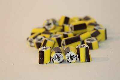 Manuka Honey & Lemon Bee Rock candy bomboniere Wedding lollies Candy Bar