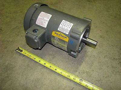 BALDOR 1-1/2HP electric motor, 3-Phase, 230/460V, 3450 RPM, 1.5HP electric motor