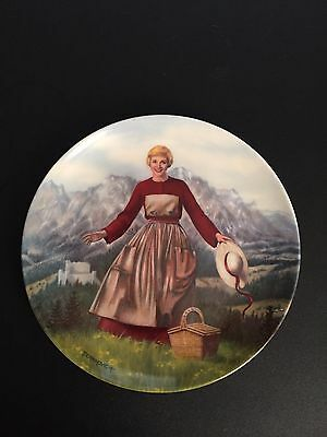 """The Sound Of Music """"Maria"""" Collectors Plate Knowles Julie Andrews"""