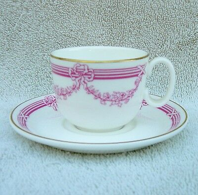 Royal Doulton China Demi Cup & Saucer from The Ritz Hotel (London)