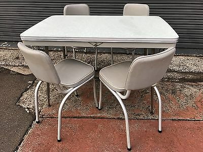 Vintage 'Namco' 1960s Kitchen Table and Four Chairs