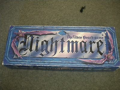 NIGHTMARE 1991 vintage VHS video board game VERY GOOD USED CONDITION