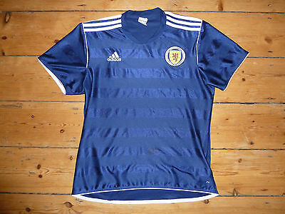 size:M SCOTLAND football SHIRT  Scottish Soccer Adidas Jersey 2010 Training top