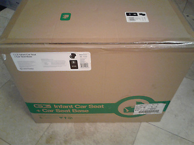 New in the Box!  Orbit Baby G3 Infant Car Seat And Base Black/Slate
