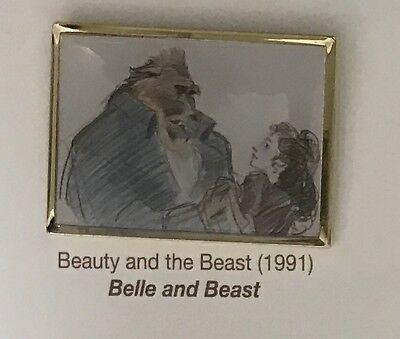 Very Rare!Art of Disney Japan 2017 Pin Beauty and the Beast Belle 1991 Limited