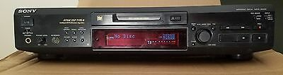 Sony MDS-JE630 with remote
