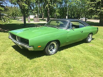 1969 Dodge Charger  1969 Dodge Charger White Hat Special