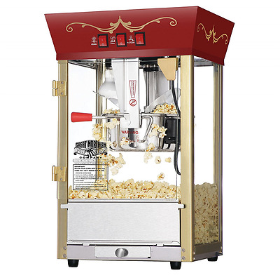 Great Northern Popcorn Red Matinee Movie Theater Style 8-Ounce Antique Popcorn M