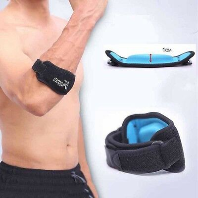 US Baligh Tennis Elbow Support Brace Golfer Strap Epicondylitis Lateral Pain Gym