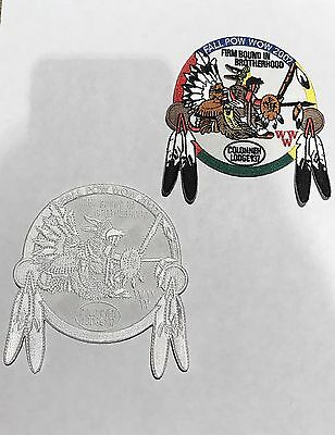 Boy Scouts Colonneh Lodge 137 Pow Wow 2007 Patch And Ghost Patch