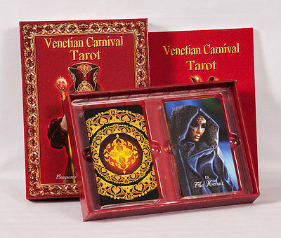 Luxury Limited Edition, Venetian Carnival Tarot Kit, book and cards (new)