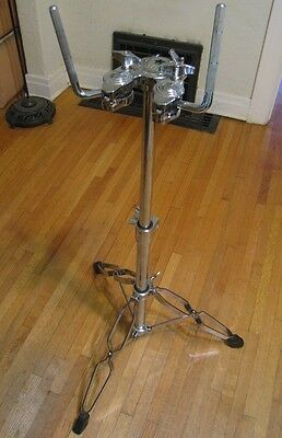 Dw Drum Workshop High Quality Adjustable Dual Tom Drum Mount Stand Xlnt #1