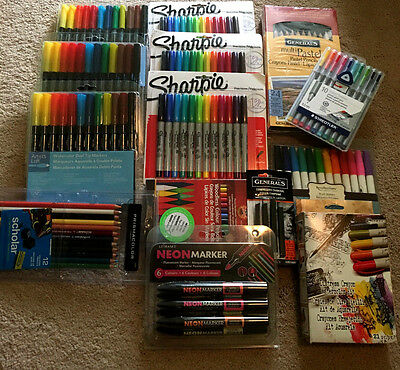 Brand new and sealed art supplies