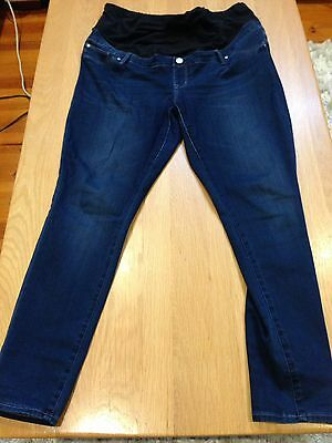Jeanswest Maternity Jeans 7/8 length Size 14