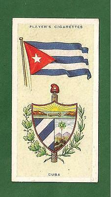Republica de CUBA State Emblem & Flag original 1936 card
