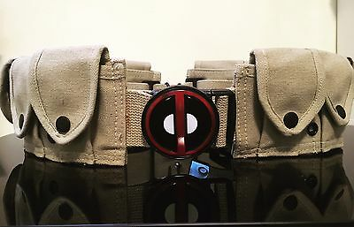 Deadpool Coyote Tan Belt Pouches Cosplay Costume Marvel