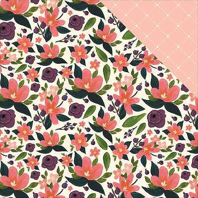 """Flora No. 1 Double-Sided Cardstock 12""""X12"""" Lily Meadow Corsage 653341311696"""