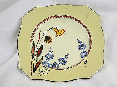 Royal Winton,Grimwades,England plate with flowers