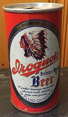 Vintage Iroquois Indian Head Beer Can, Iroquois Brewing, Rare, HTF