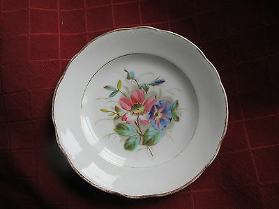 pretty old  handpainted plate ,kpm,