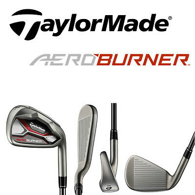 "Taylor Made Ladies Aeroburner HL Irons 6-SW graphite shafts ""NEW"""