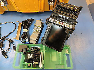 Fujikura FSM-70S Core Alignment Fusion Splicer, w/ CT-30, 1700 Arc Count