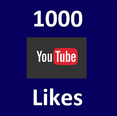 YouTube 1000 Real-High-Quality-Likes