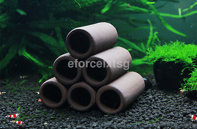 1PC Aquarium Tank Breeding Hiding Cave Shelter Tube For Fish Shrimp Spawn CA