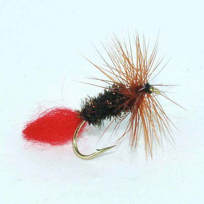 12 Red Tag Fly Fishing Flies