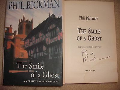 Phil Rickman Signed Book - The Smile Of A Ghost