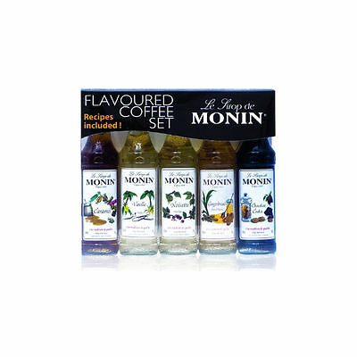 Monin Coffee Syrup Gift Set Variety Pack