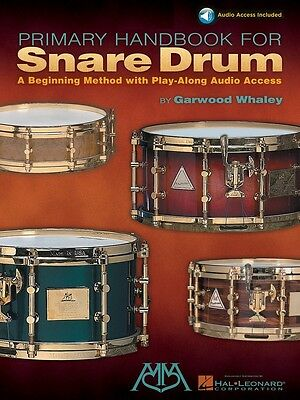 Primary Handbook for Snare Drum - Music Book with Audio Access