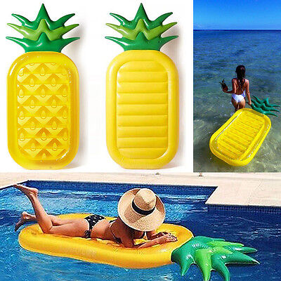Summer Sport Water Game Rafts Inflatable Pineapple Swim Float Swimming Pool Raft