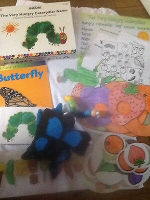The very hungry caterpillar story sack and teaching resource