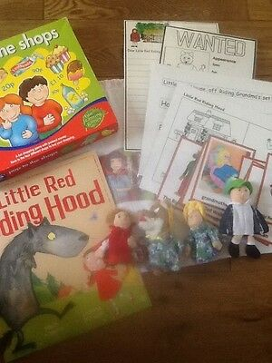 Little Red Riding Hood story sack and teaching resource