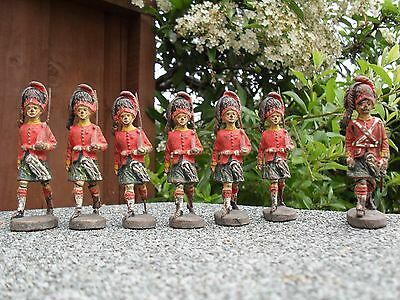 ELASTOLIN Gordon Highlander Toy Soldiers 1930's Made in Germany